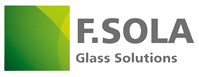 Logotipo de F.Sola Glass Solutions