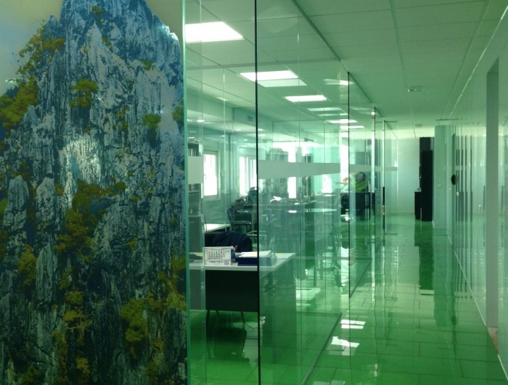 Oficinas F.Sola Glass Solutions